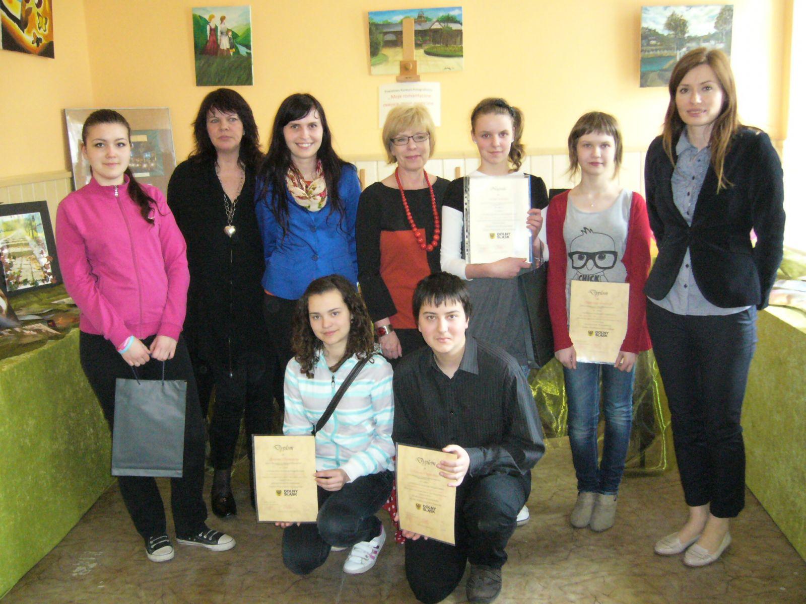 Sukces gimnazjalistek z Zespołu Szkół Samorządowych