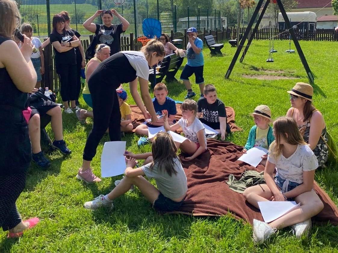 W piknikowo-sportowym nastroju