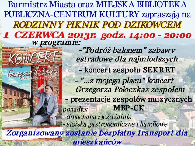 Rodzinny Piknik pod Dzikowcem:)