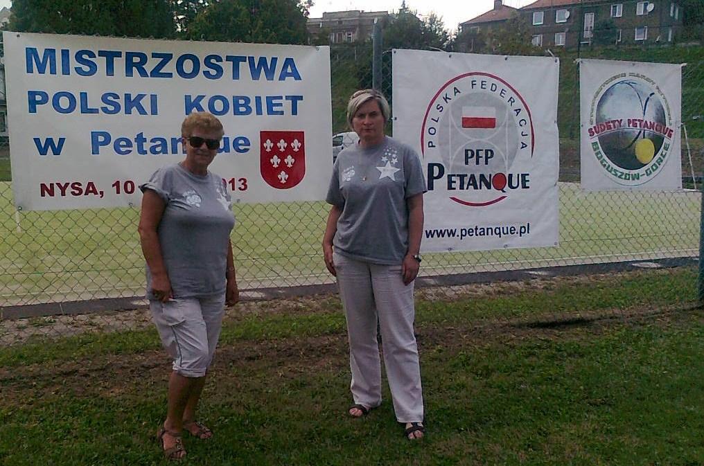 Mistrzostwa Polski Kobiet w Petanque 2013