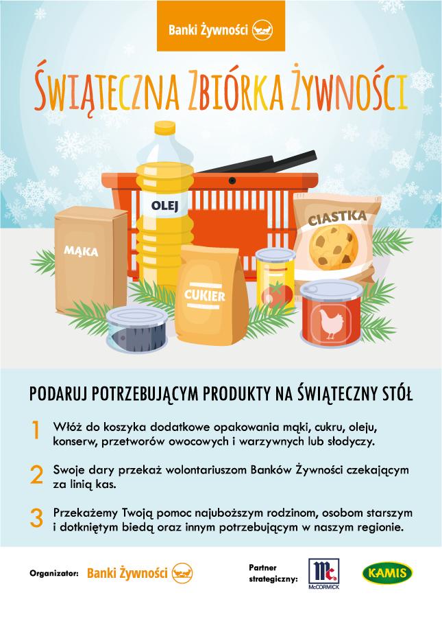 30.11 - 01.12 - Świąteczna Zbiórka Żywności!
