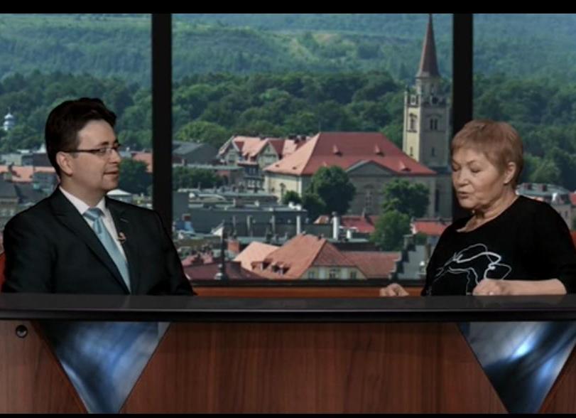 Burmistrz Boguszowa-Gorc gościem dnia w TV Wałbrzych