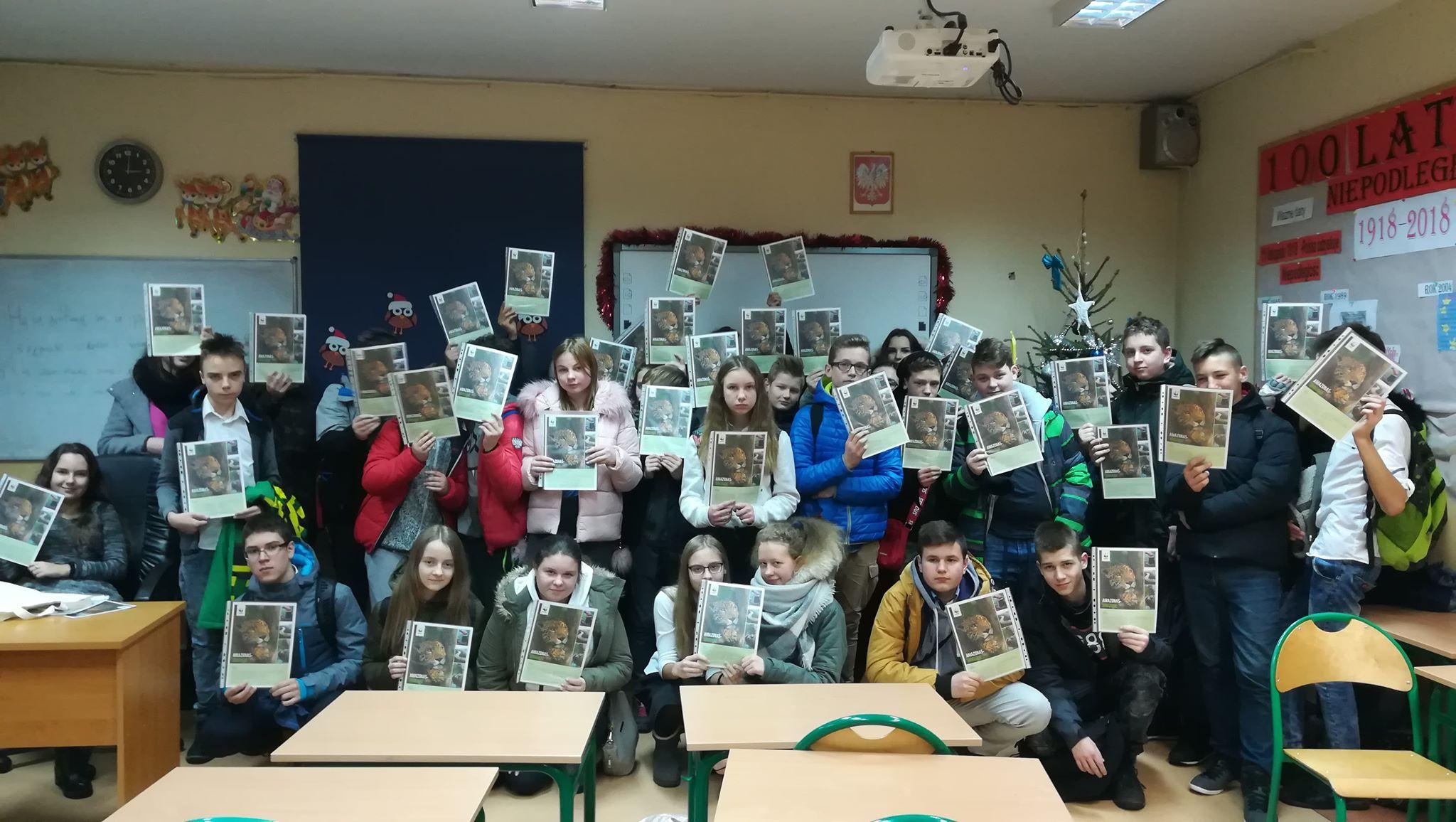 Uczniowie ratują zielone płuca świata