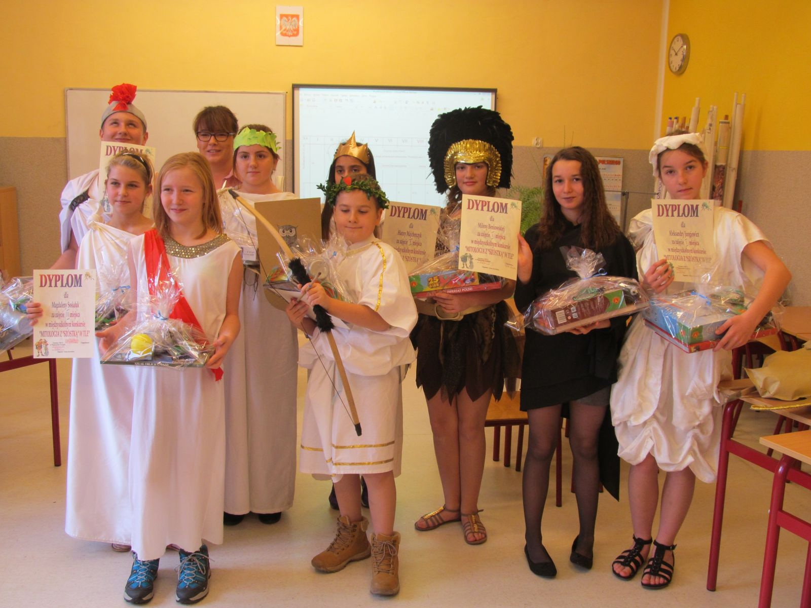 Międzyszkolny Konkurs Mitologiczny