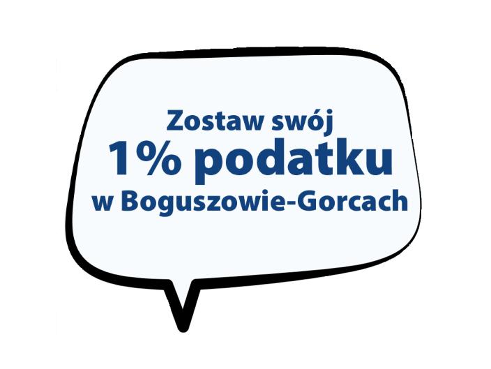 Kwiecień, to ostatni miesiąc na rozliczenie się z Urzędem Skarbowym. Zostaw swój 1% w Boguszowie-Gorcach.