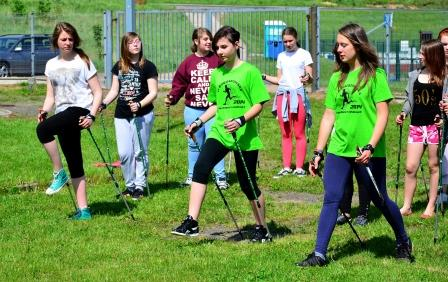 Nordic Walking w Gimnazjum :)
