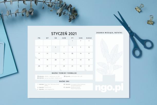 Pobierz planer (kalendarz) NGO.PL 2021