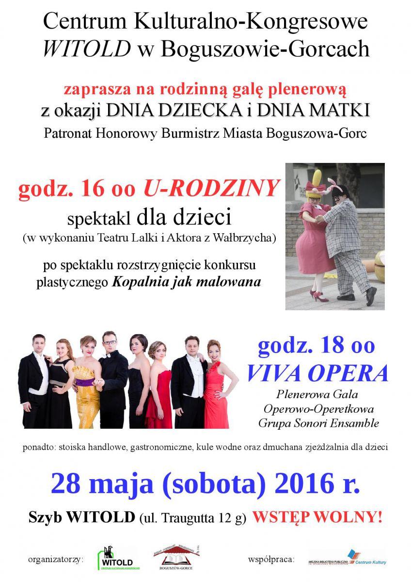 Rodzinna gala plenerowa z okazji DNIA DZIECKA i DNIA MATKI