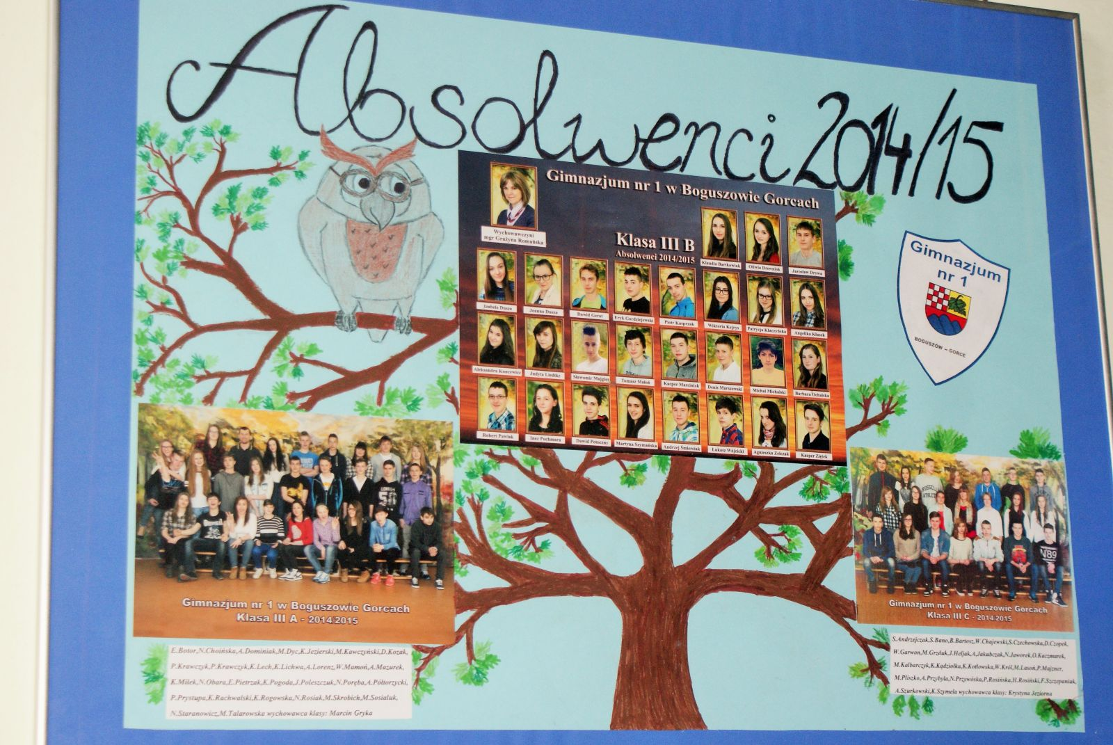 Gimnazjalne Drzewka Absolwenta
