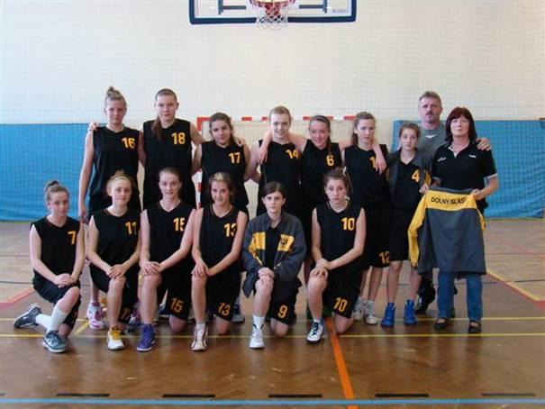 Koszykarki z Boguszowa na Ogólnopolskiej Olimpiadzie