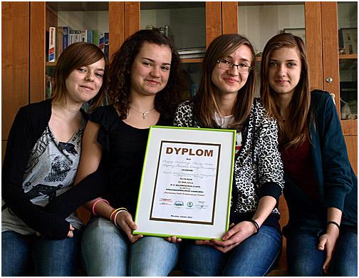 Sukces gimnazjalistek z ZSS w Gorcach