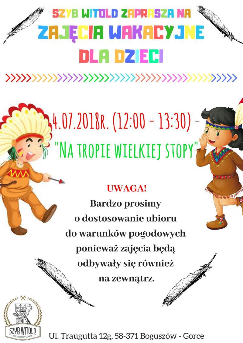 Wakacyjne zajęcia dla dzieci na Witoldzie -