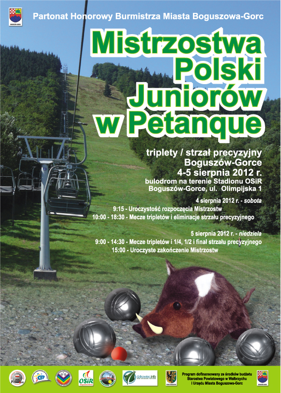 Mistrzostwa Polski Juniorów w Petanque