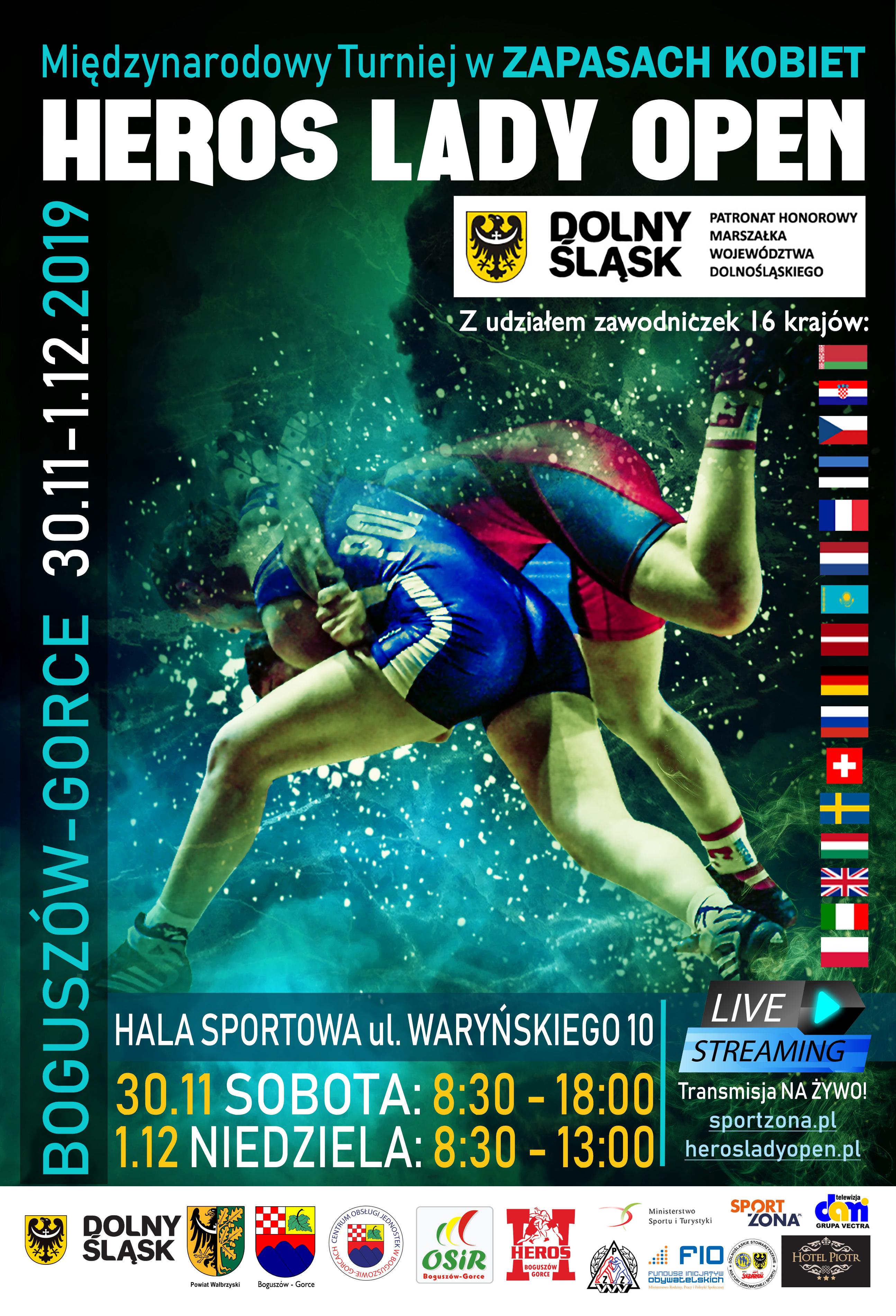 Międzynarodowy Turniej w ZAPASACH KOBIET