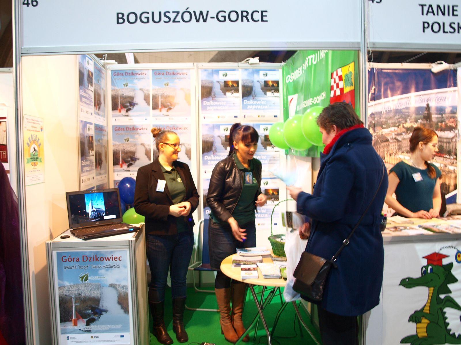 Boguszów-Gorce na Międzynarodowych Targach Turystycznych - Wrocław 2013!