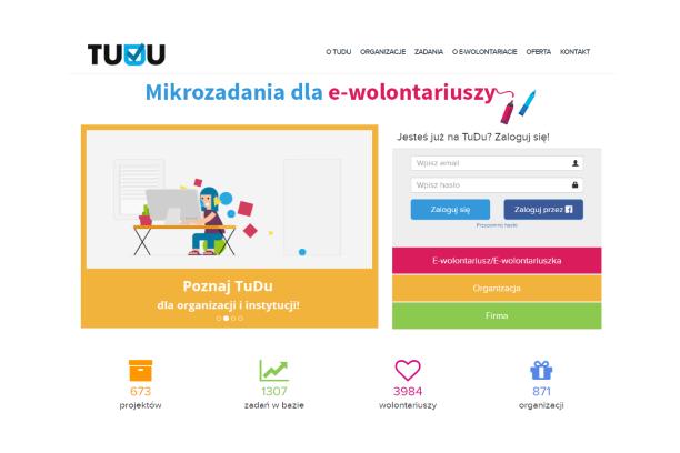 Promocja, Facebook, fundraising, pisanie, projektowanie – dowiedz się, w jakich zadaniach pomagają e-wolontariusze TuDu.org.pl
