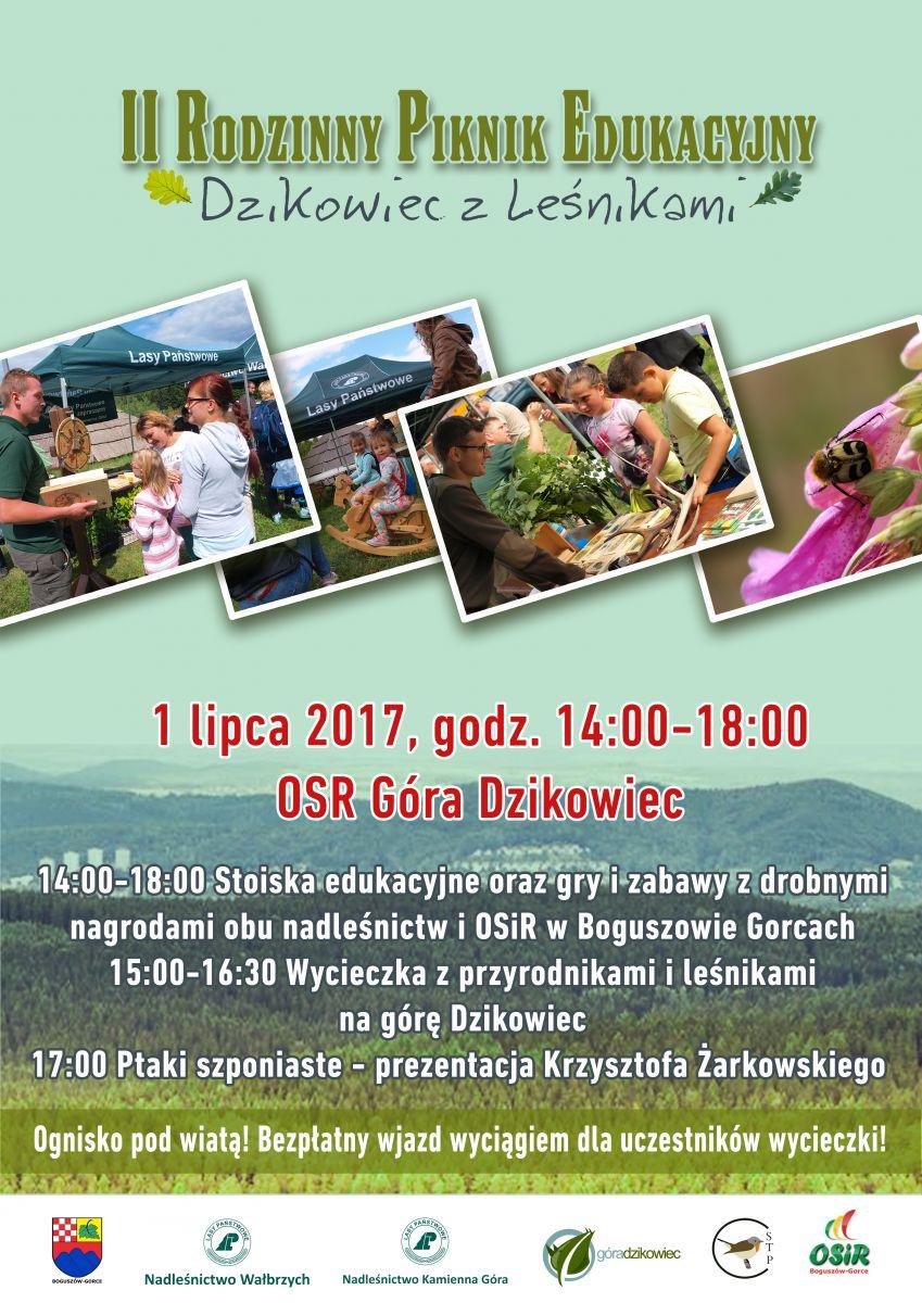 Rodzinny Piknik Edukacyjny - zaproszenie