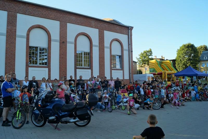 Cykliści na finale wakacji w Centrum Witold