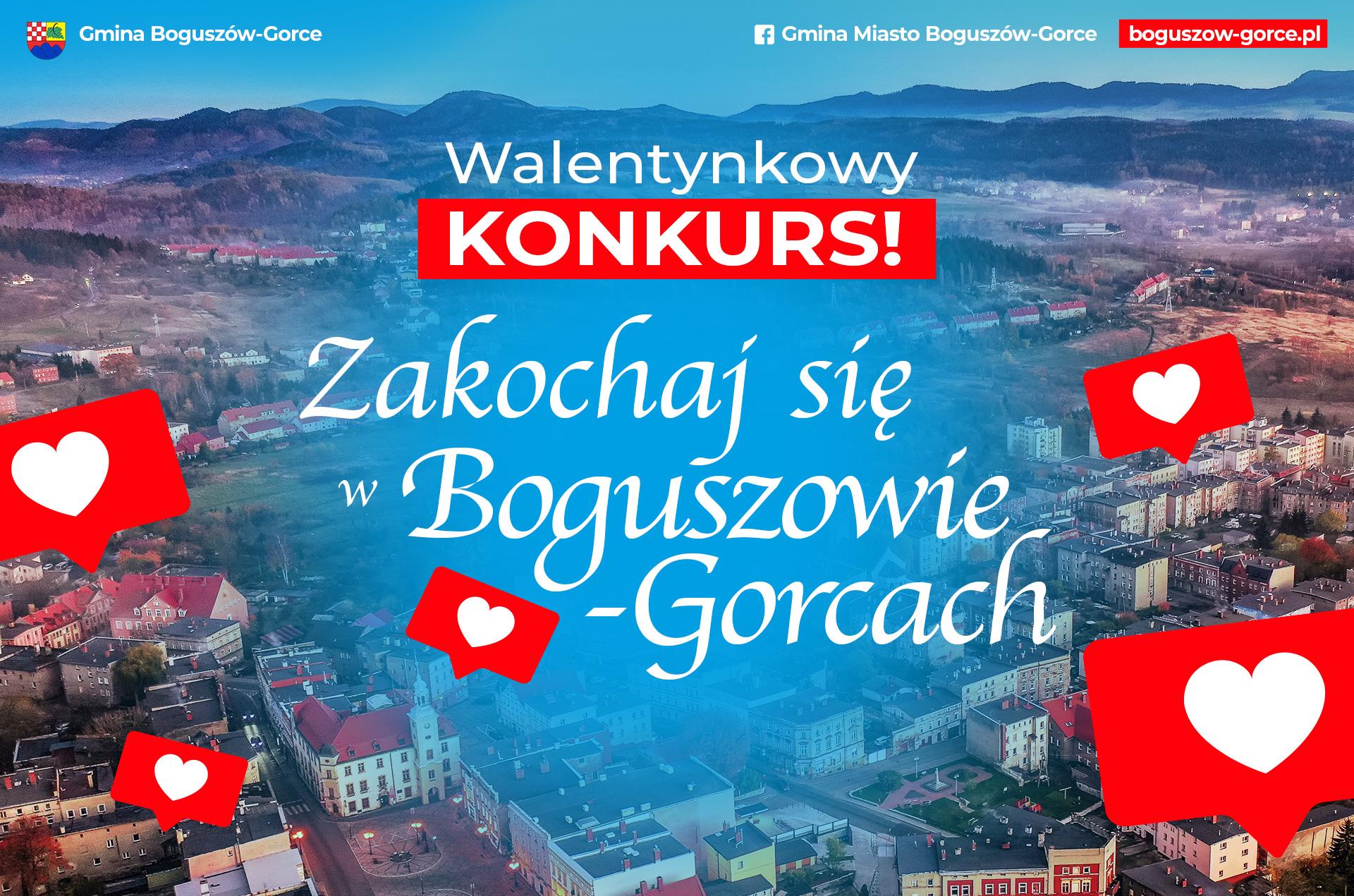 KONKURS Zakochaj się w Boguszowie-Gorcach