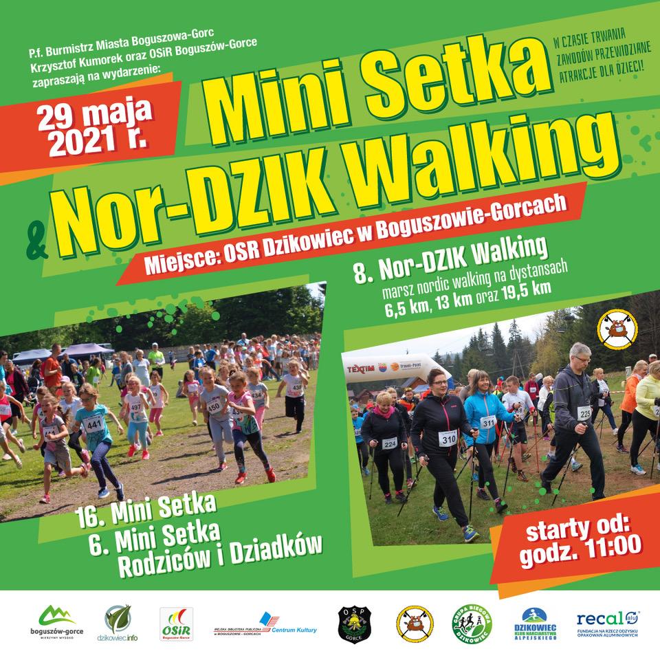 Nor-DZIK Walking i Mini Setka - zapraszamy!