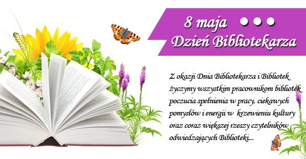 Najlepsze życzenia z okazji Dnia Bibliotekarza !