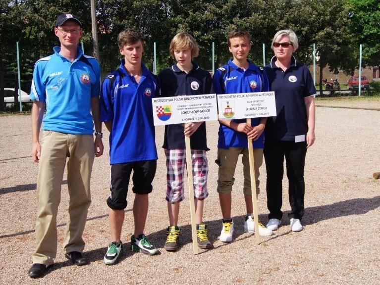 Sukces naszych zawodników na Mistrzostwach Polski Juniorów w petanque