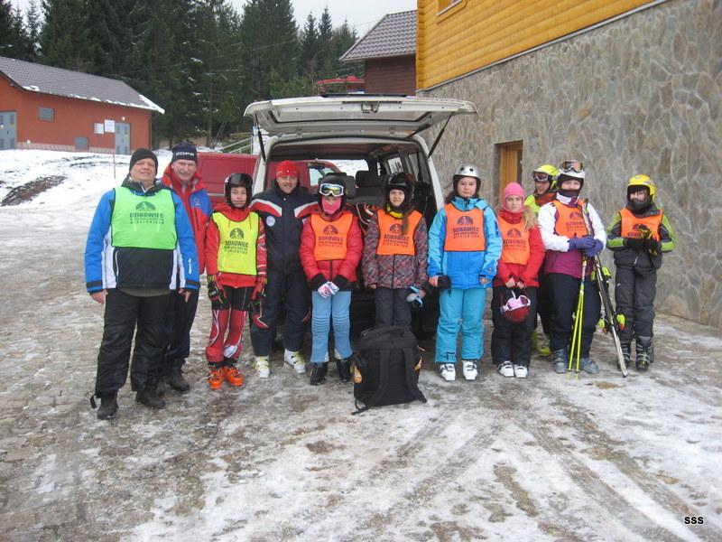 Narciarstwo alpejskie na Dzikowcu :)