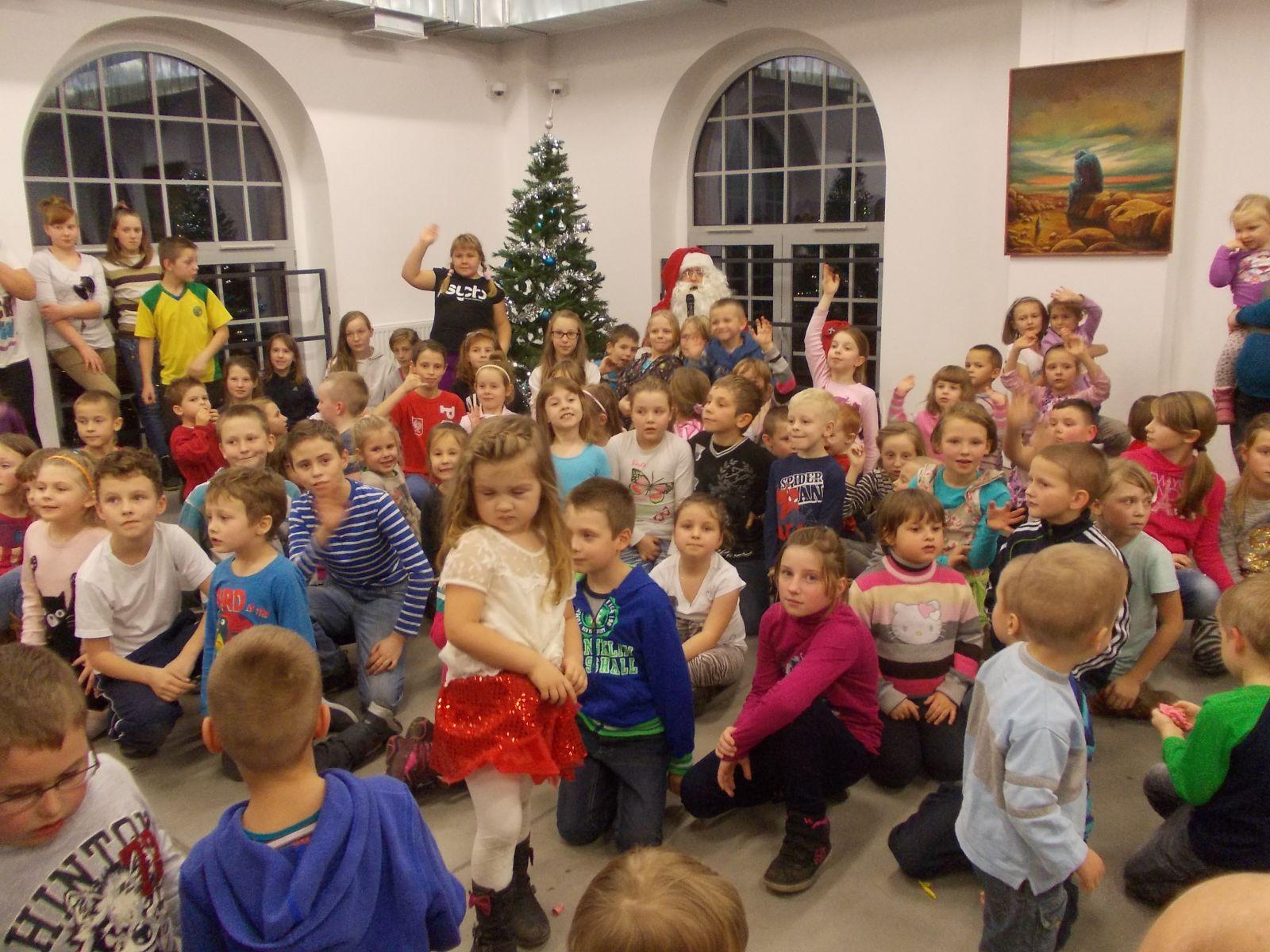 Święty Mikołaj odwiedził Witold:)