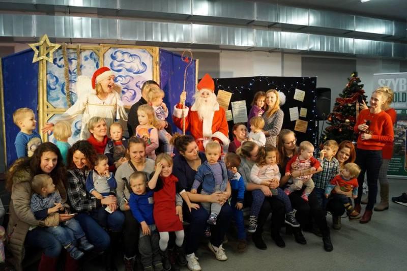 Do Centrum WITOLD zawitał Święty Mikołaj