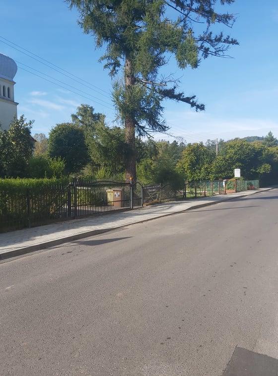 Budowa wraz z przebudową chodników w ciągu drogi powiatowej nr 3366 D ul. Kosynierów w Boguszowie-Gorcach