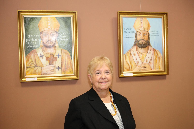Obrazy Lucyny Wierzbickiej w MBP-CK