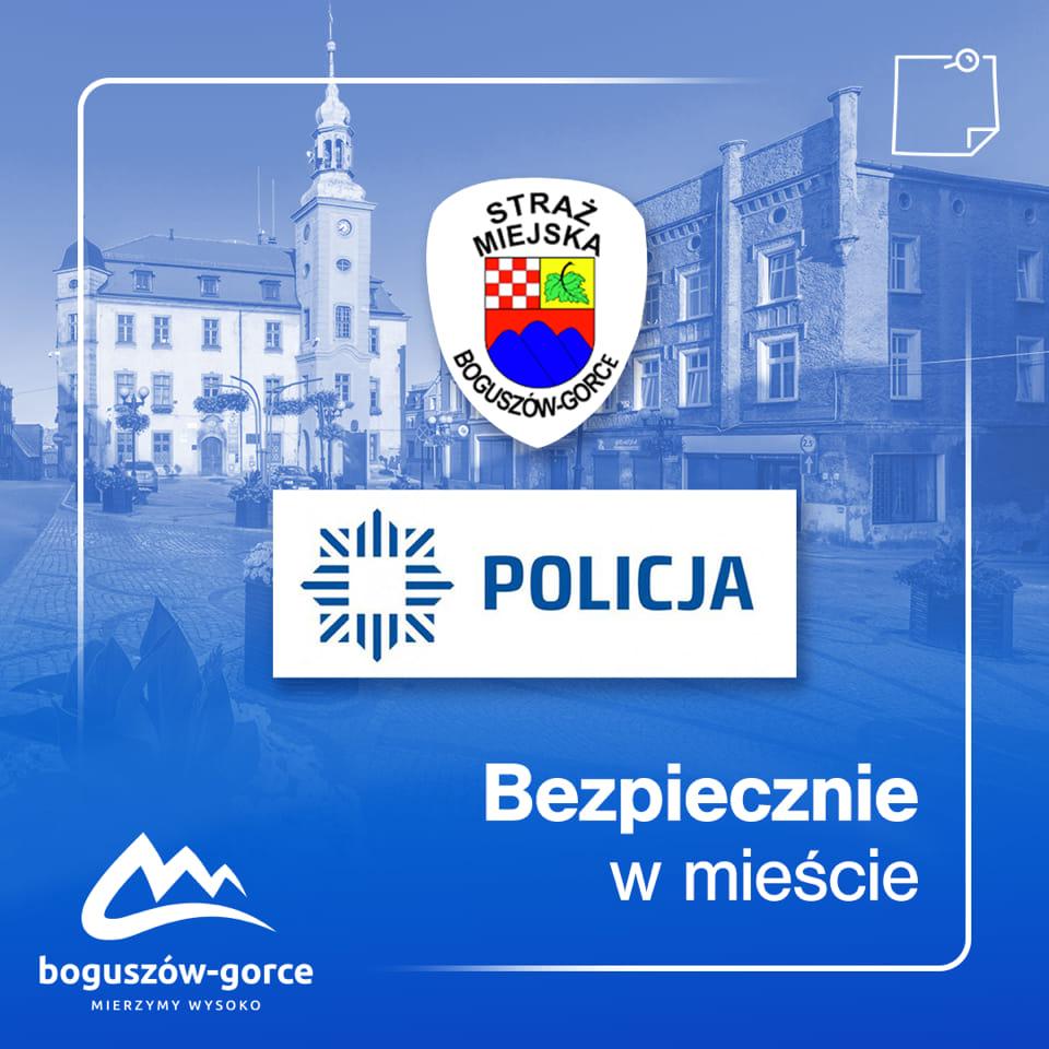 Piesze patrole w Boguszowie-Gorcach