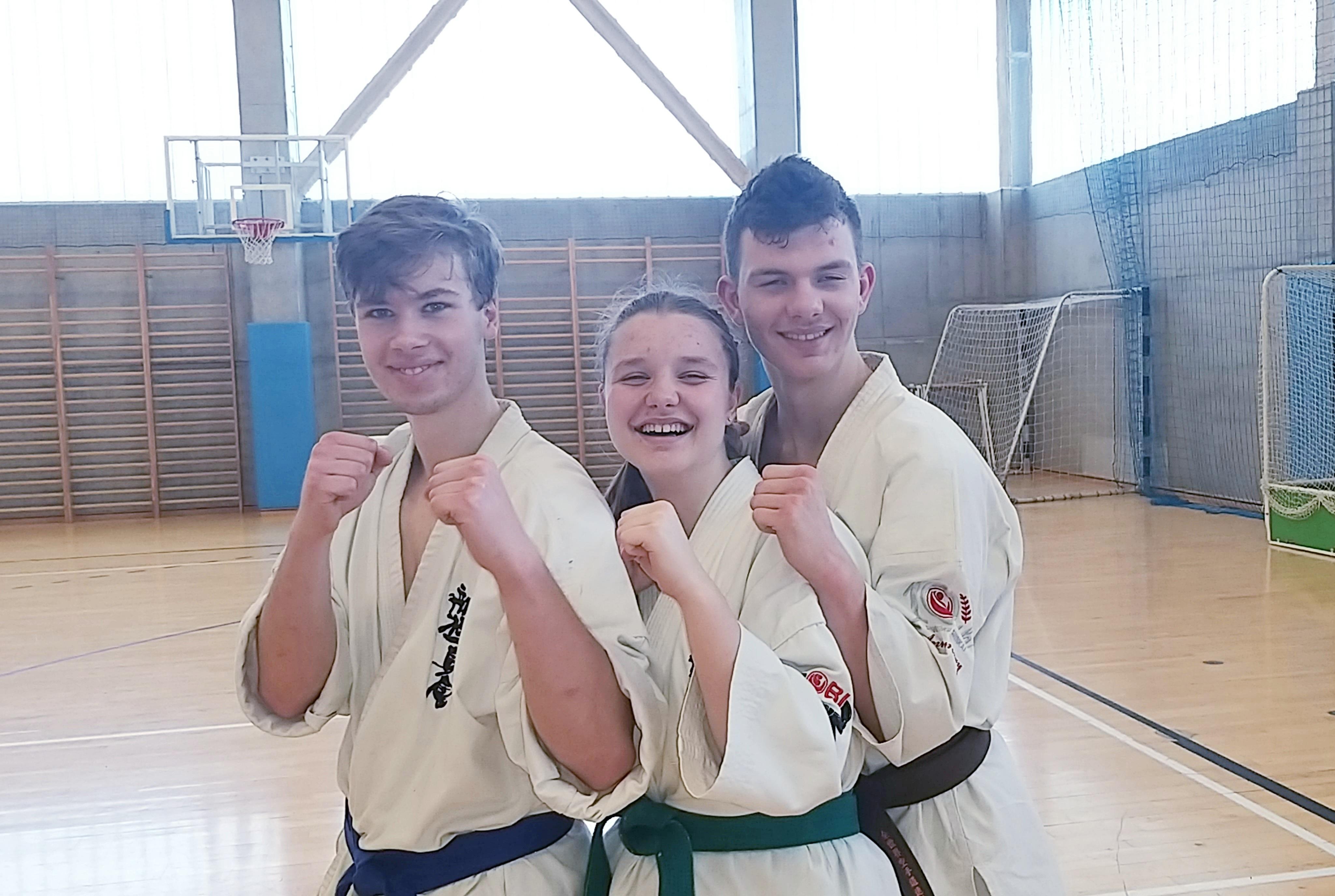 Nasi karatecy pokazali się w Tarnowskich Górach