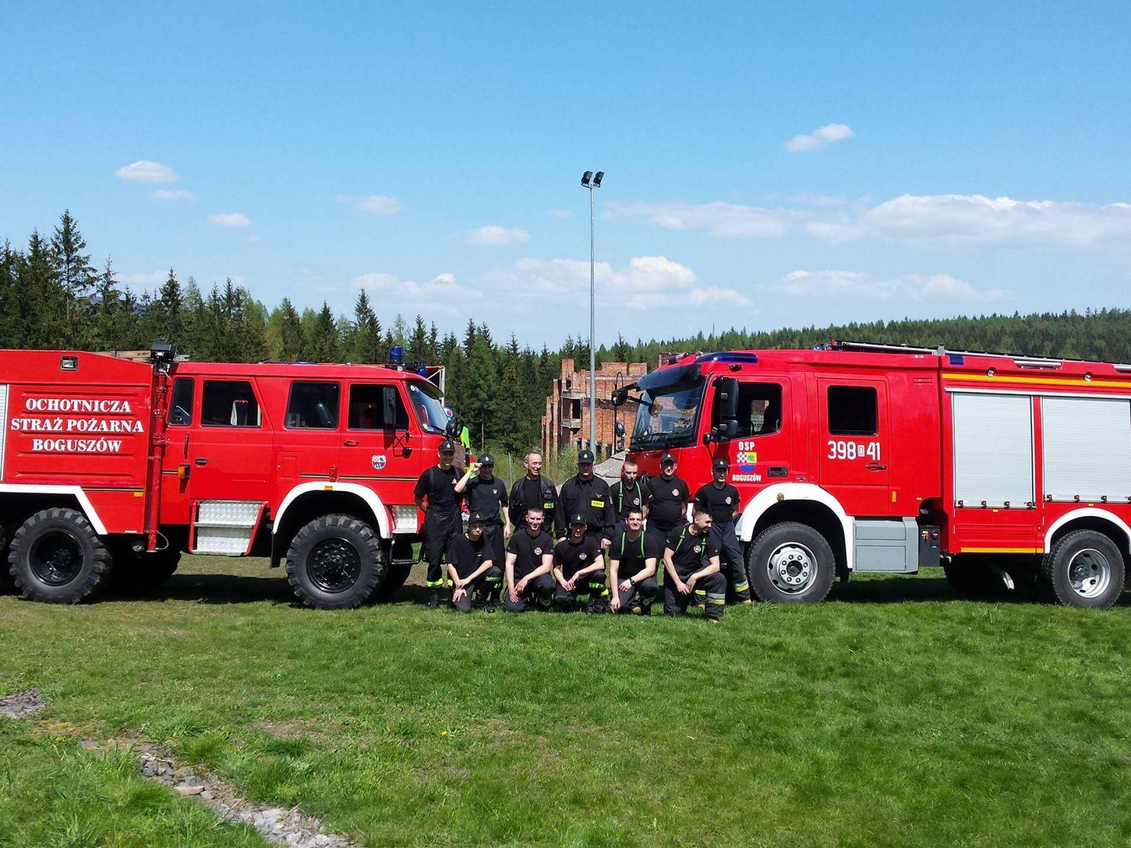 Ochotnicza Straż Pożarna Boguszów serdecznie dziękuje wszystkim Mieszkańcom Boguszowa-Gorc