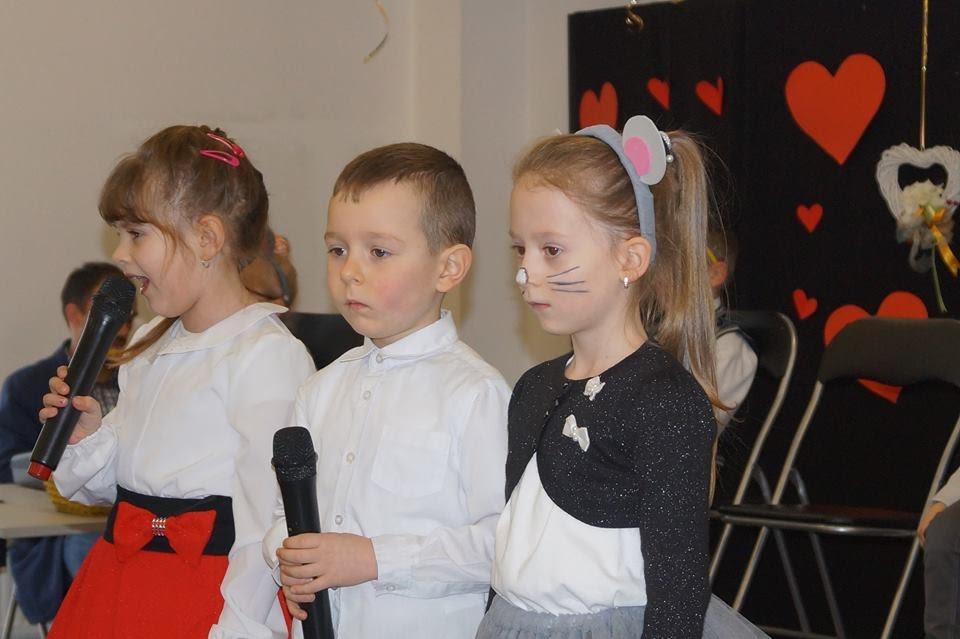 Zespół Szkół Samorządowych też świętował Dzień Babci i Dzień Dziadka
