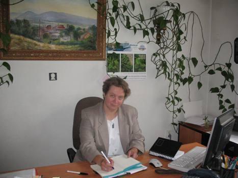 Nagrodzona dyrektor MBP - CK