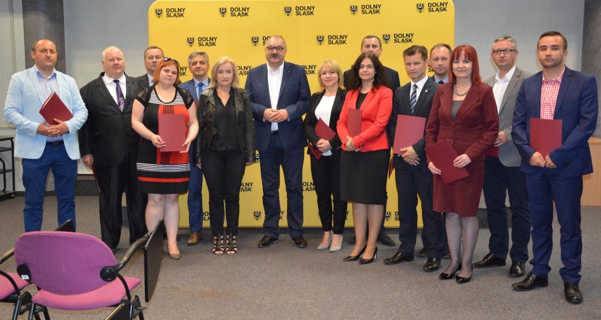 Promesa Samorządu Województwa Dolnośląskiego dla Boguszowa-Gorc