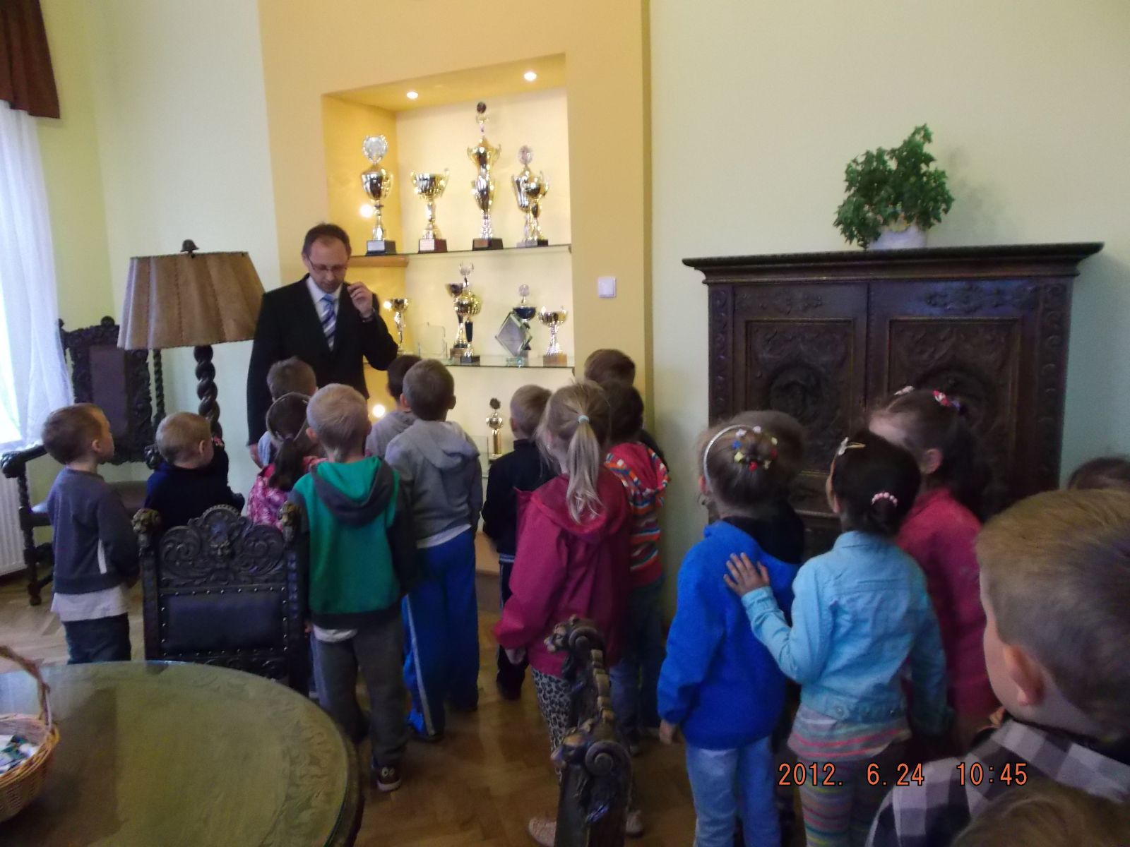 Przedszkolaki z wizytą w Urzędzie:)