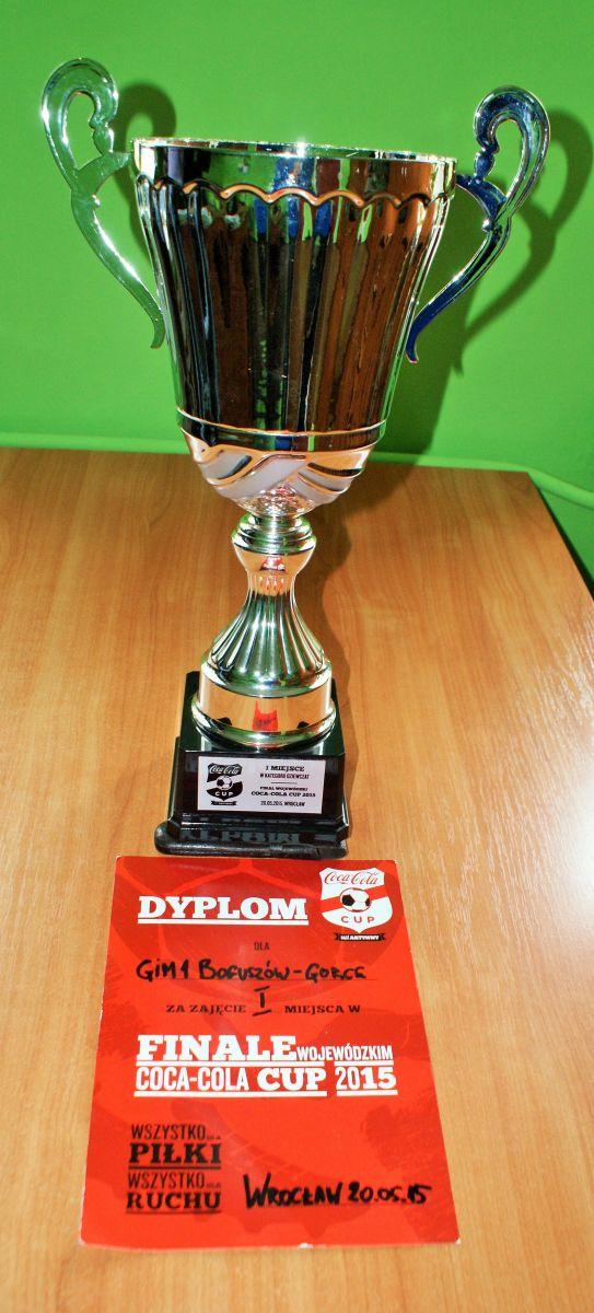 Piłkarki z Gimnazjum nr 1 w finale ogólnopolskim Turnieju Coca - Cola Cup 2015 !