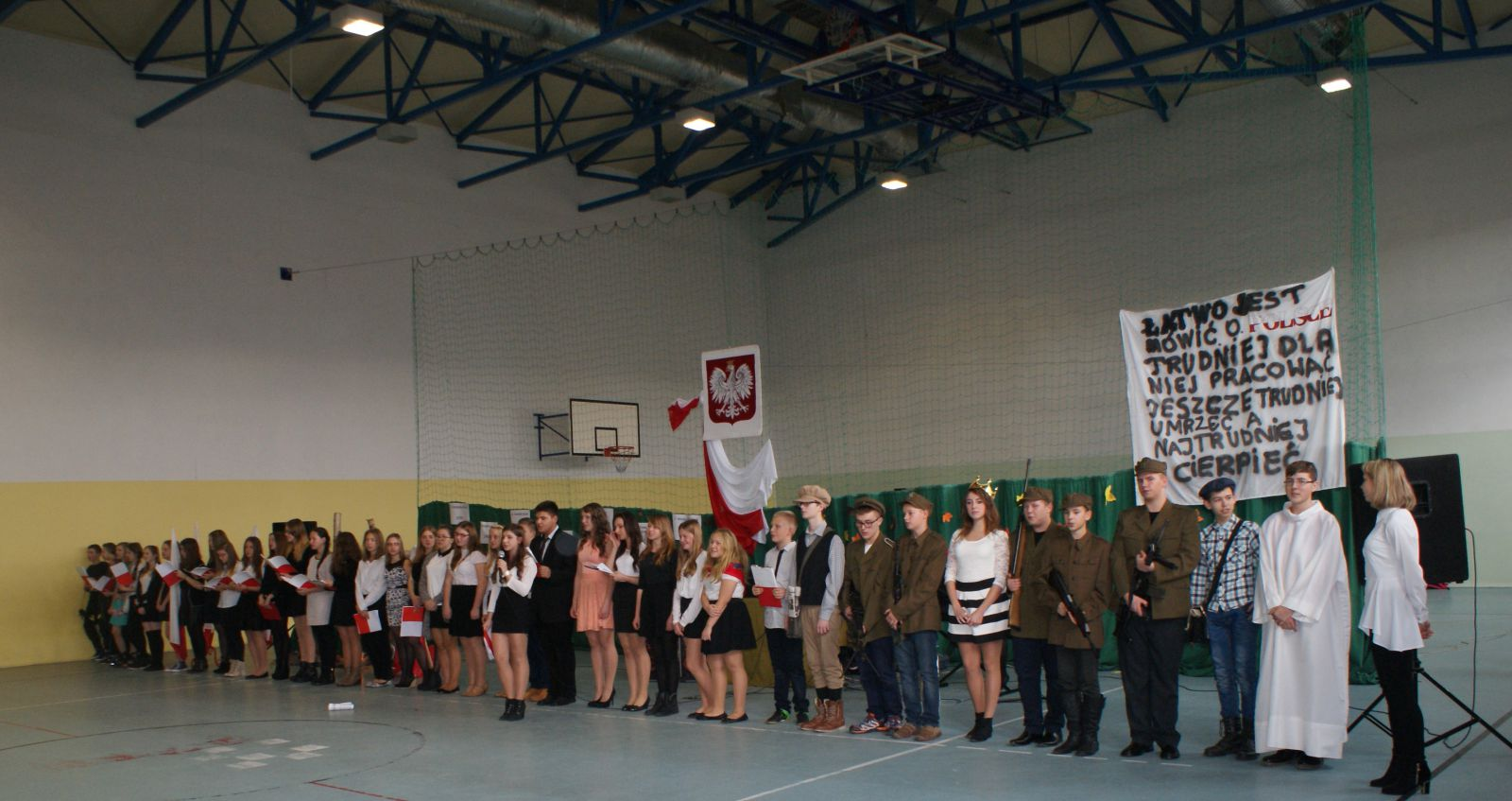 Obchody Święta Niepodległości w Gimnazjum nr 1
