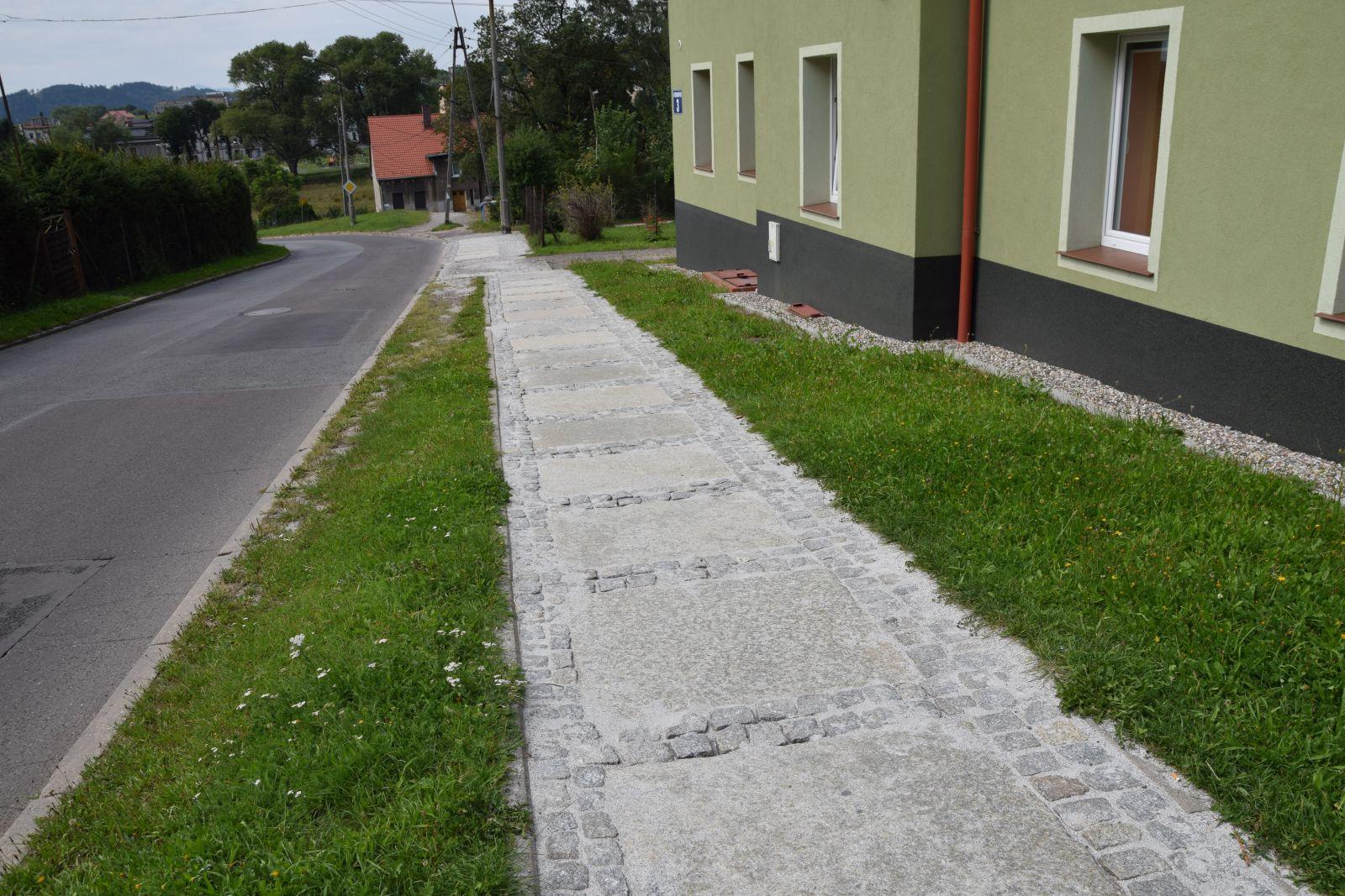 Modernizacja chodnika na ul. Przodowników Pracy