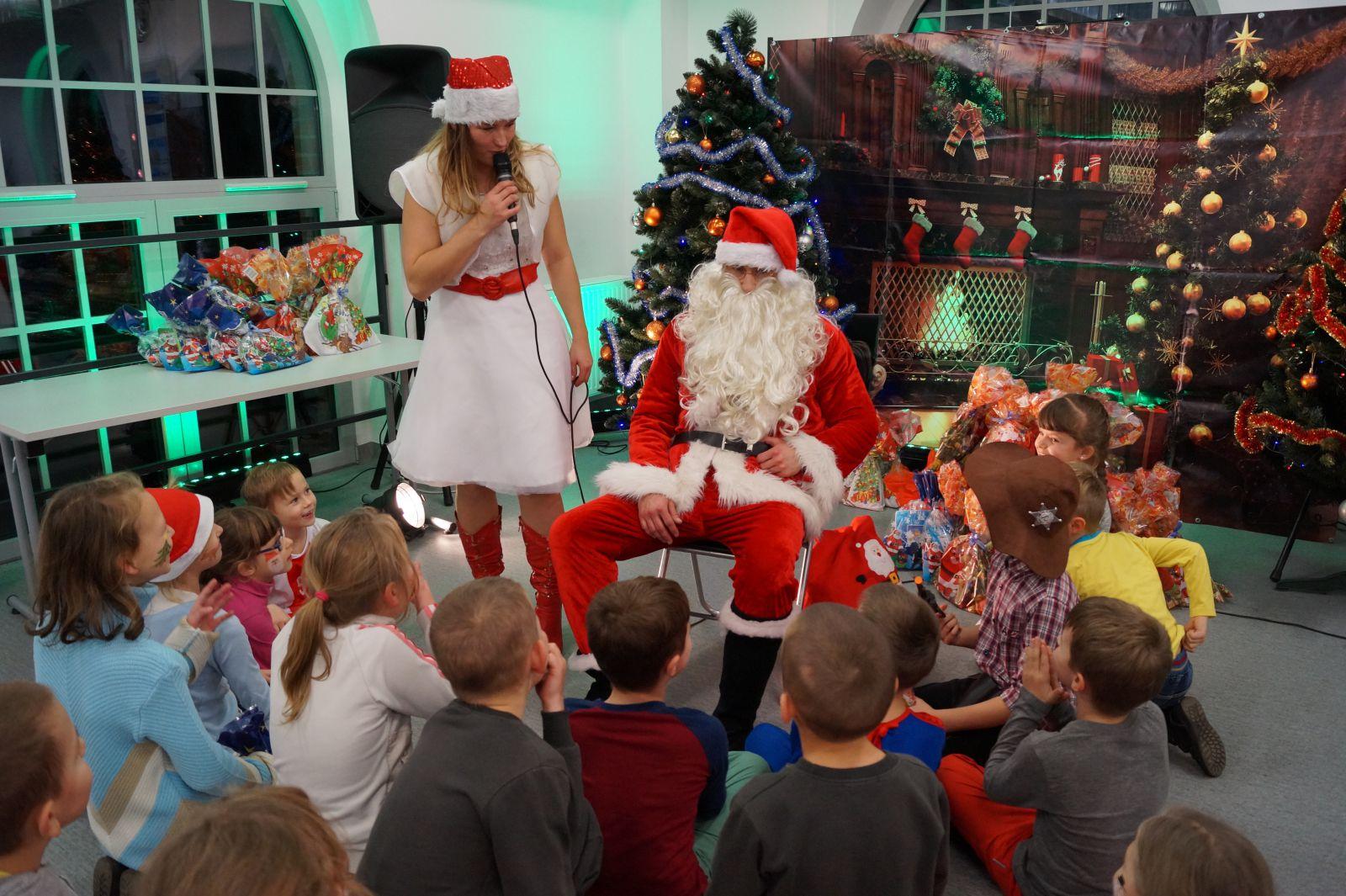 Święty Mikołaj zagościł w Centrum Witold !