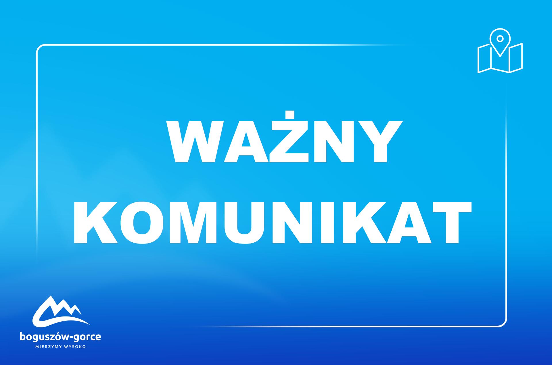 STARY LESIENIEC - UWAGA, MIESZKAŃCY!