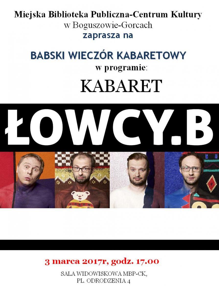 Łowcy.B na Babskim Wieczorze Kabaretowym!