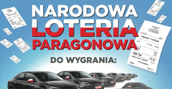 Narodowa loteria paragonowa !