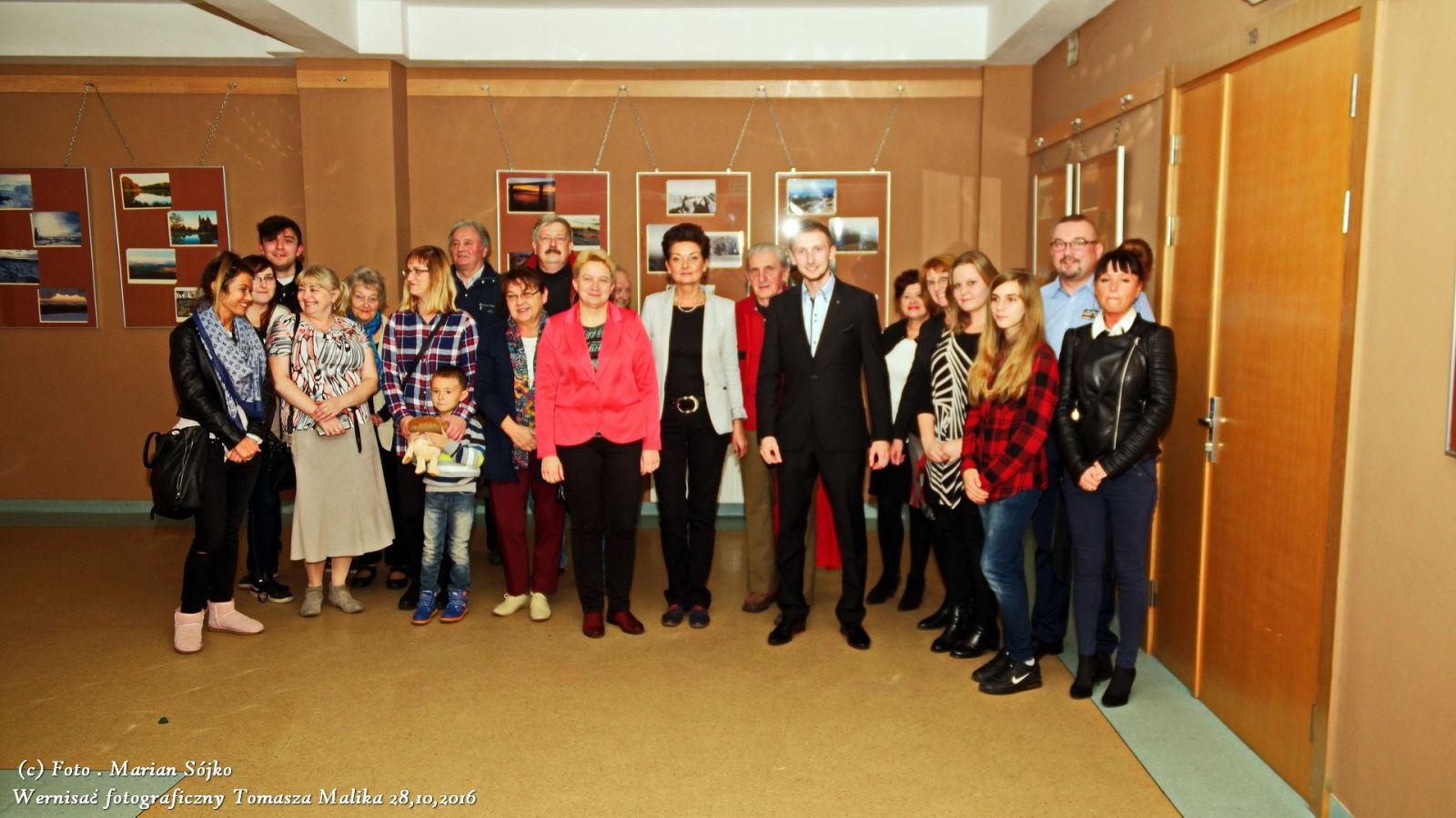 Wystawa fotografii Tomasza Malika w MBP-CK