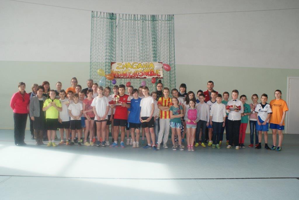 Zmagania matematyczno-sportowe w Gimnazjum Nr 1 :)