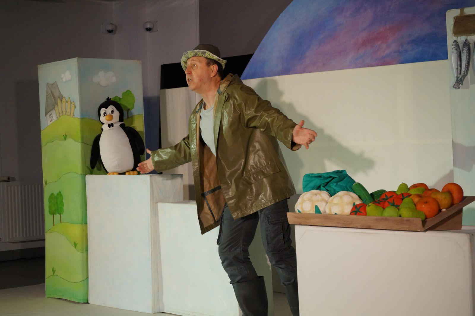Mały pingwinek Pik -Pok zagościł na