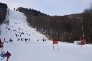 Slalomem na Dzikowcu !