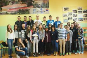 Niecodzienne lekcje językowe w Gimnazjum nr 1 - oknem na świat !